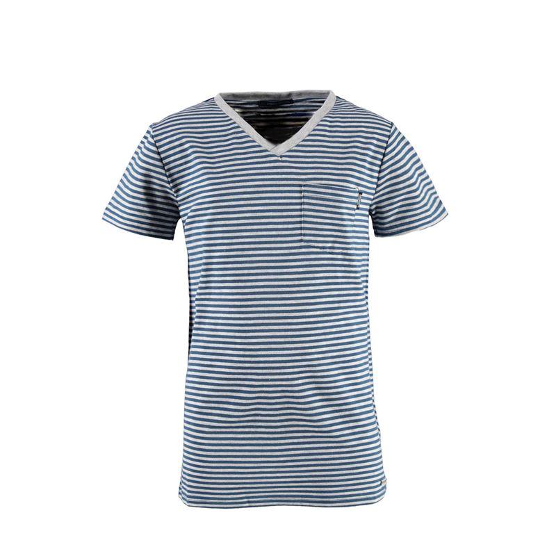 Brunotti Jay  (blauw) - jongens t-shirts & polo's - Brunotti online shop