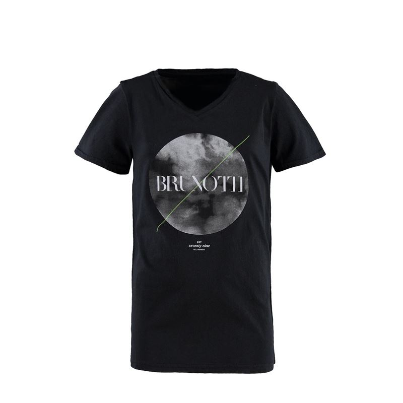 Brunotti Moon JR Boys  T-shirt (Black) - BOYS T-SHIRTS & POLOS - Brunotti online shop