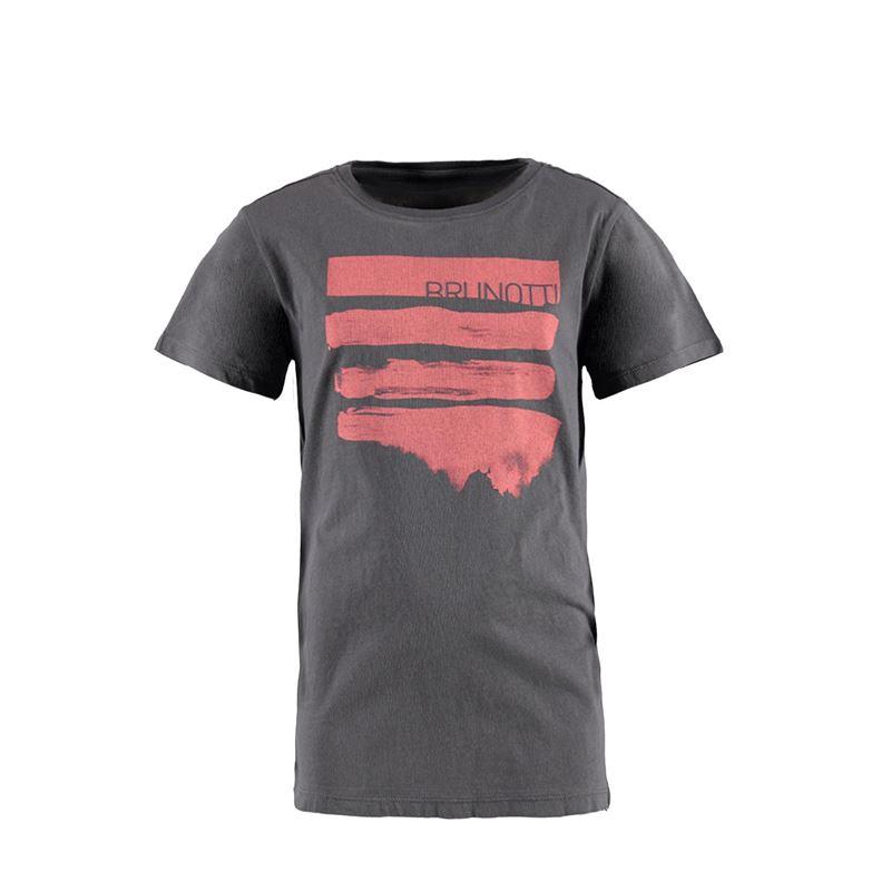 Brunotti Seashell JR Boys  T-shirt (Grau) - JUNGEN T-SHIRTS & POLOS - Brunotti online shop