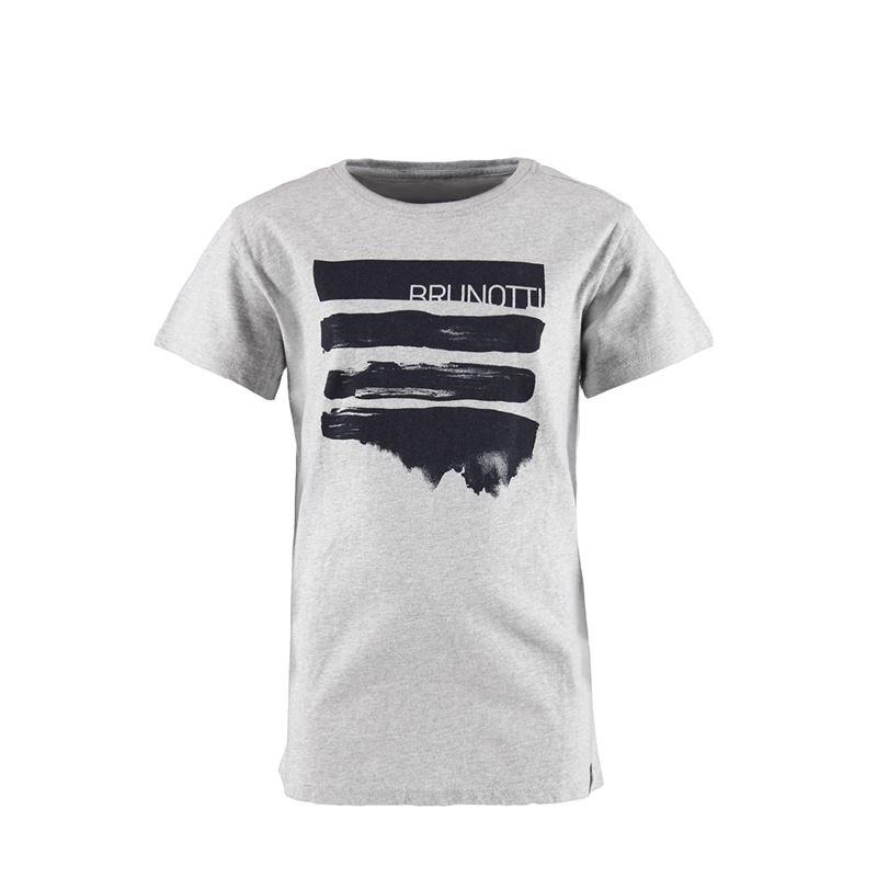 Brunotti Seashell  (grijs) - jongens t-shirts & polo's - Brunotti online shop