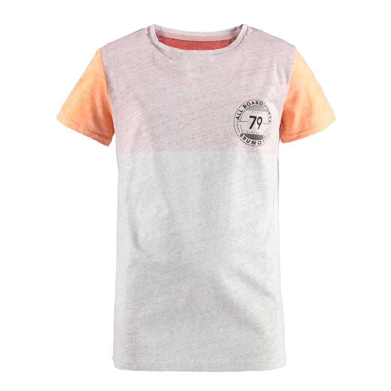 Brunotti Striping JR Boys  T-shirt (Red) - BOYS T-SHIRTS & POLOS - Brunotti online shop