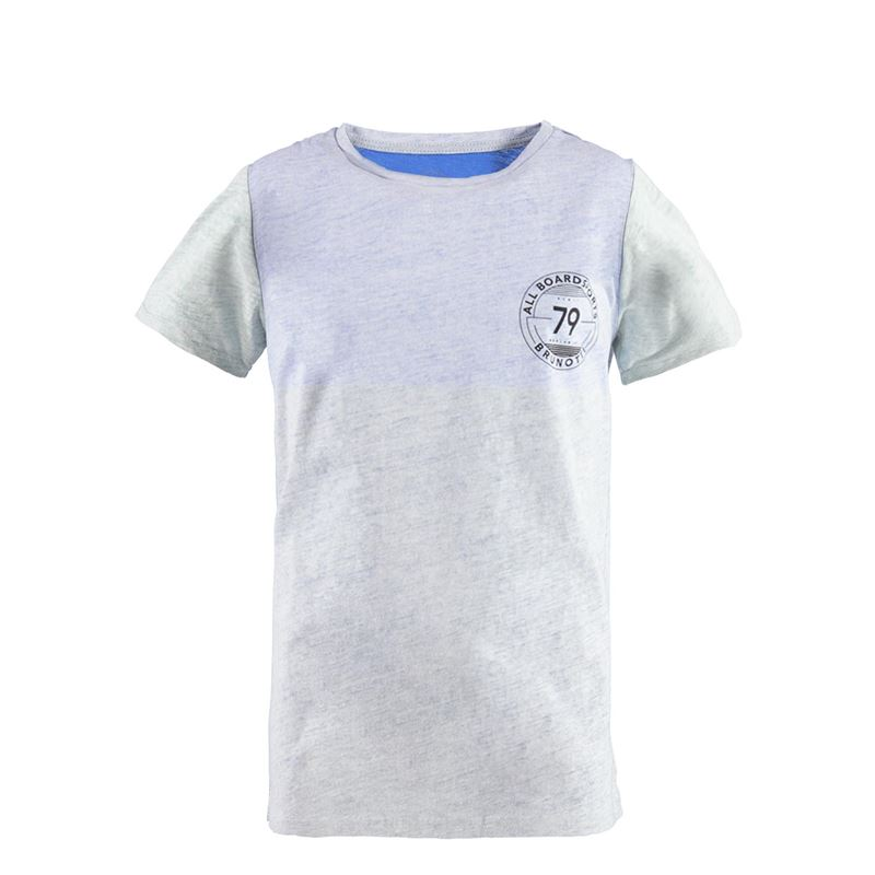 Brunotti Striping JR Boys  T-shirt (Blue) - BOYS T-SHIRTS & POLOS - Brunotti online shop