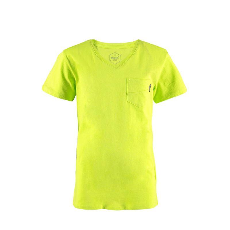Brunotti Adrano  (groen) - jongens t-shirts & polo's - Brunotti online shop