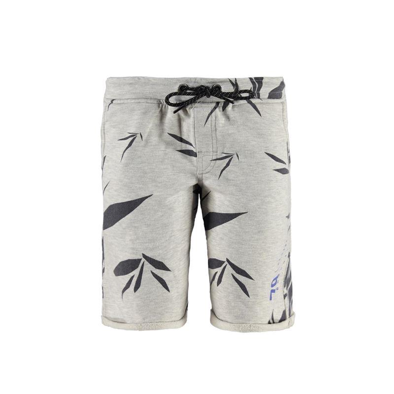 Brunotti Leech JR Boys  Sweatshort (Grey) - BOYS SHORTS - Brunotti online shop