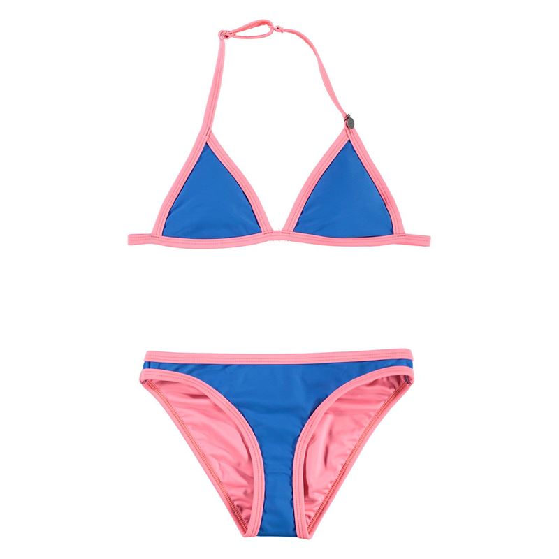 Brunotti Wavedaze  (blauw) - meisjes bikini's - Brunotti online shop