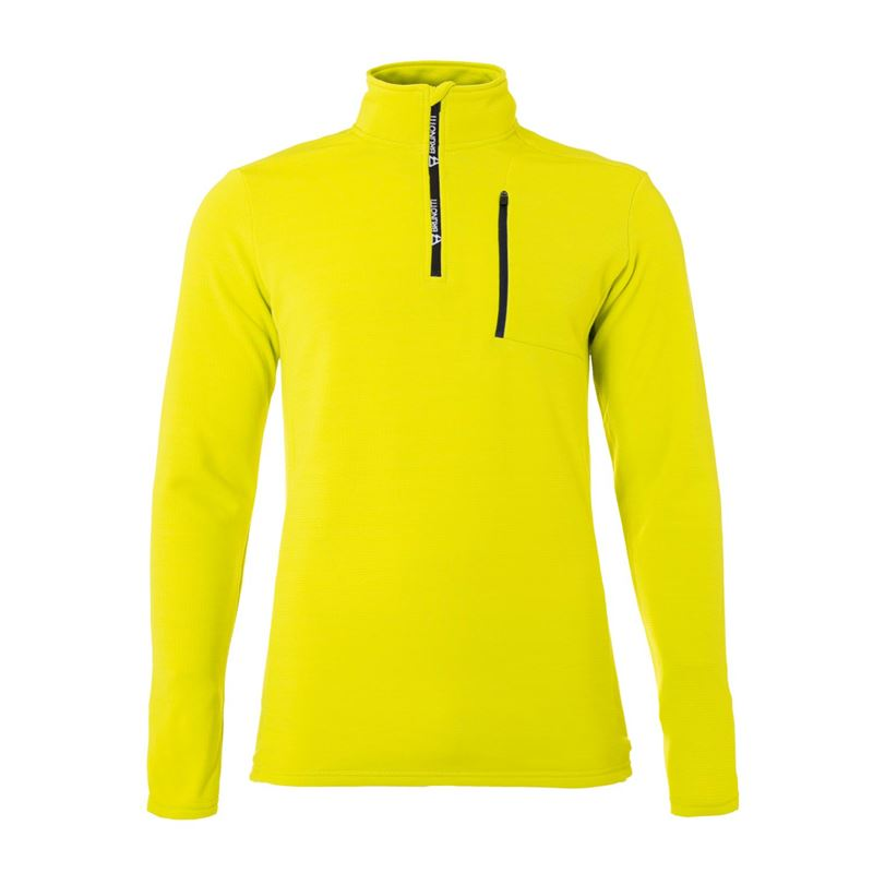 Brunotti Wetcat Men Fleece (Yellow) - MEN FLEECES - Brunotti online shop