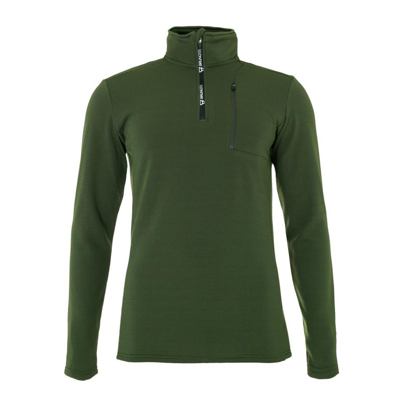 Brunotti Wetcat Men Fleece (Green) - MEN FLEECES - Brunotti online shop