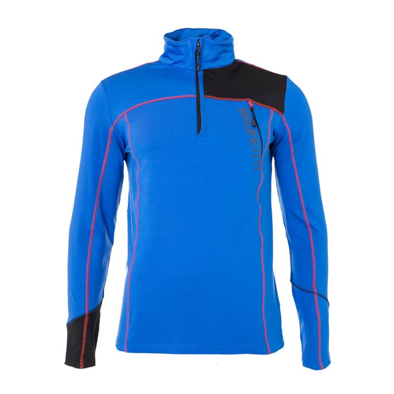 Brunotti Hampshire  (blue) - men fleeces - Brunotti online shop