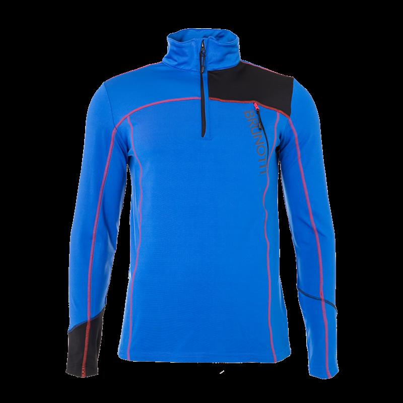 Brunotti Hampshire Men Fleece (Blue) - MEN FLEECES - Brunotti online shop