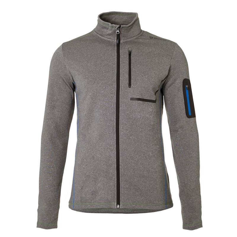 Brunotti Jackstay  (grijs) - heren fleeces - Brunotti online shop