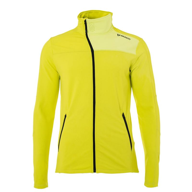 Brunotti Lowend Men Fleece (Yellow) - MEN FLEECES - Brunotti online shop