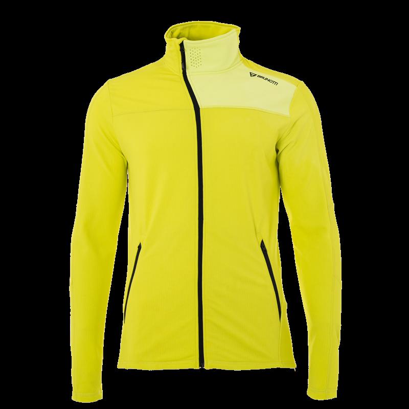 Brunotti Lowend Men Fleece (Yellow) - MEN FLEECES - Brunotti online shop