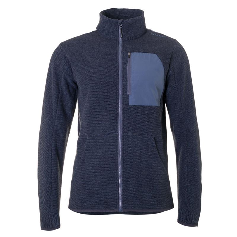 Brunotti Centreboard Men Fleece (Blauw) - HEREN FLEECES - Brunotti online shop