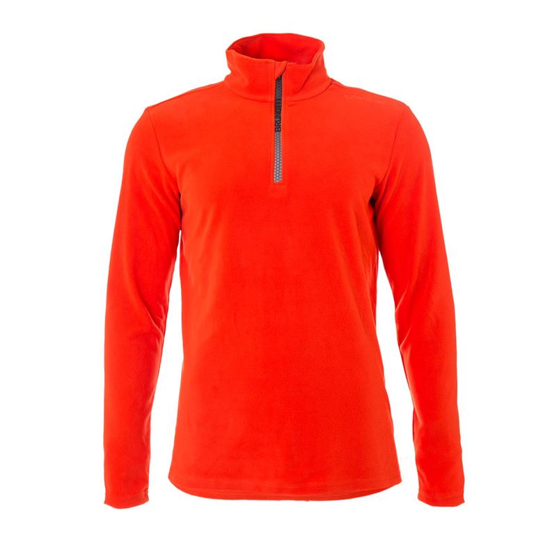 Brunotti Tenno Men Fleece (Orange) - MEN FLEECES - Brunotti online shop
