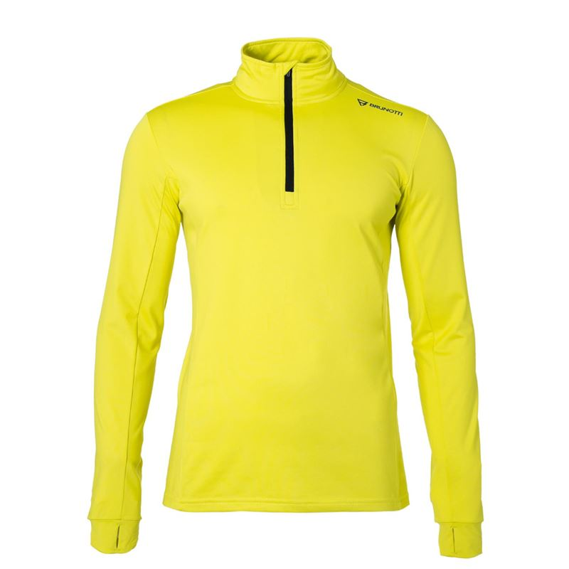 Brunotti Terni  (yellow) - men fleeces - Brunotti online shop