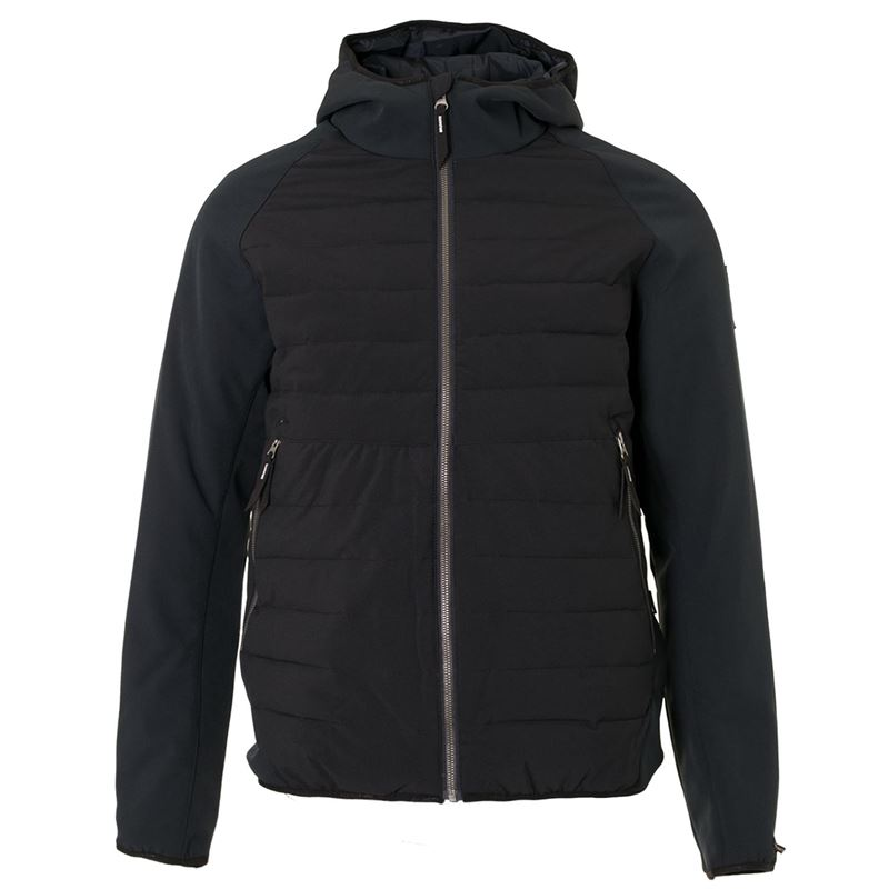 Brunotti Overlap Men Jacket (Black) - MEN JACKETS - Brunotti online shop