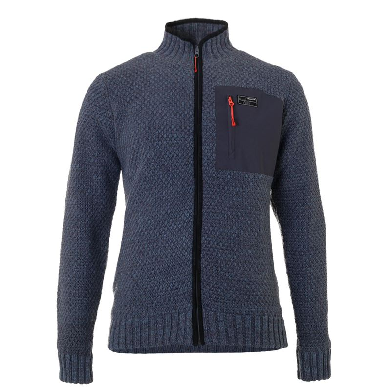 Brunotti Yawl Men Knit (Blau) - HERREN PULLOVER & STRICKJACKEN - Brunotti online shop