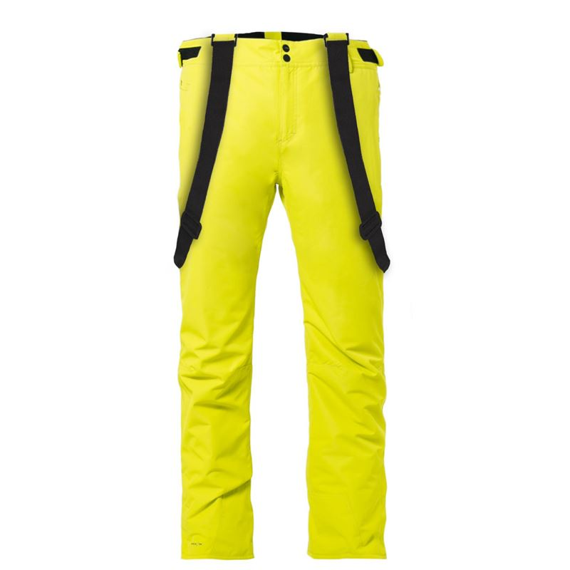 Brunotti Footstrap Men Snowpant (Yellow) - MEN SNOW PANTS - Brunotti online shop