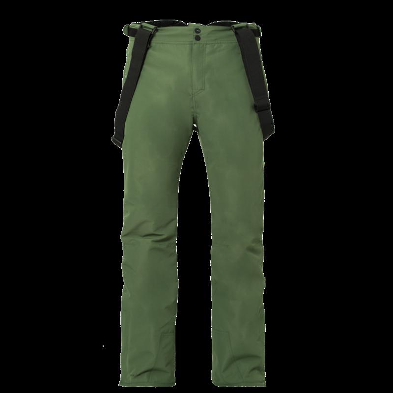 Brunotti Footstrap Men Snowpant (Green) - MEN SNOW PANTS - Brunotti online shop