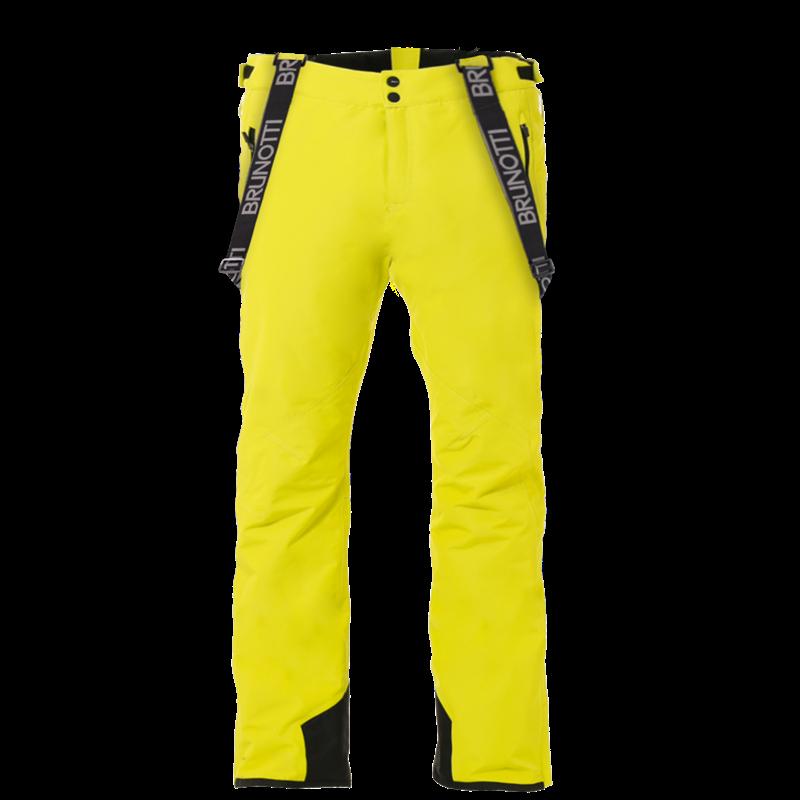 Brunotti Damiro Dull Nylon Men Snowpant (Yellow) - MEN SNOW PANTS - Brunotti online shop