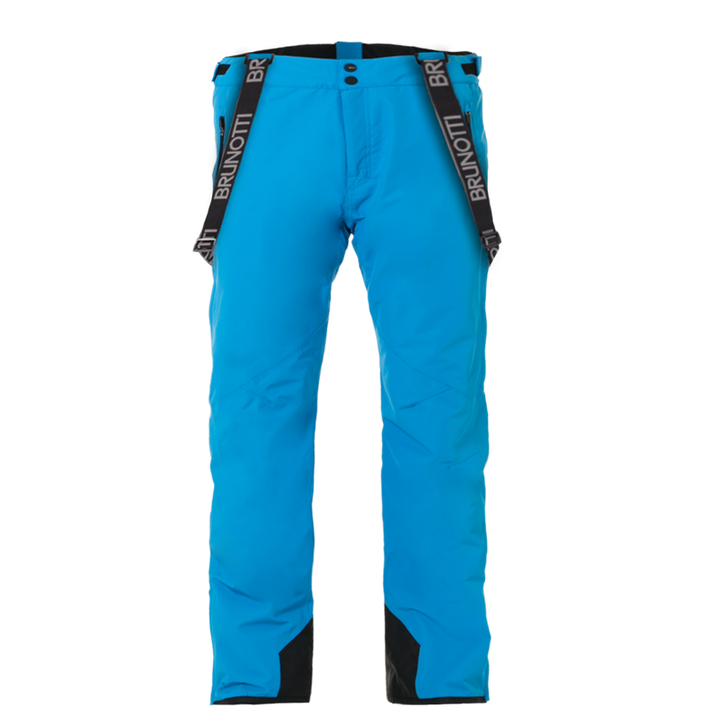 Brunotti Damiro Dull Nylon Men Snowpant (Blue) - MEN SNOW PANTS - Brunotti online shop