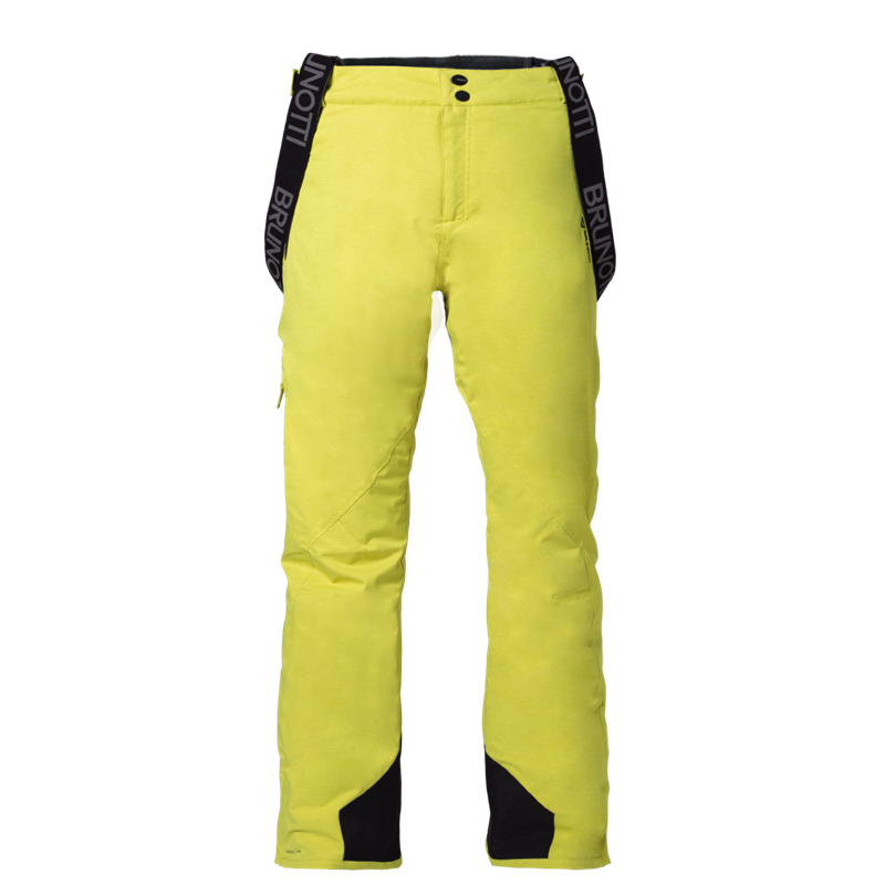 Brunotti Damiro Melange Men Snowpant (Yellow) - MEN SNOW PANTS - Brunotti online shop