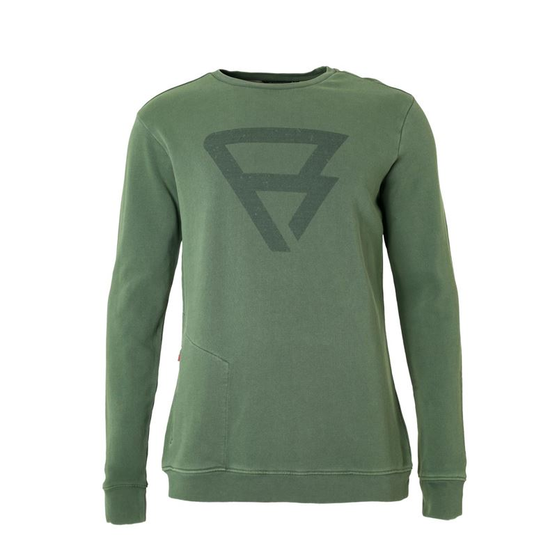 Brunotti Tognar Men Sweat (Groen) - HEREN TRUIEN & VESTEN - Brunotti online shop