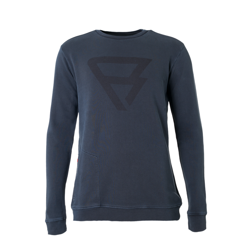Brunotti Tognar Men Sweat (Zwart) - HEREN TRUIEN & VESTEN - Brunotti online shop