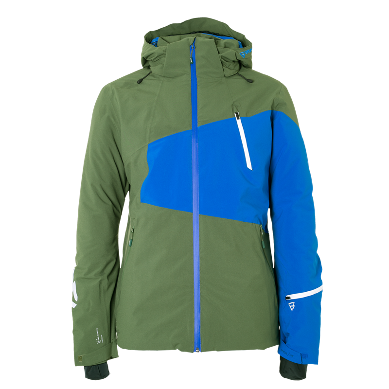 Brunotti Kentucky Men Snowjacket (Green) - MEN JACKETS - Brunotti online shop