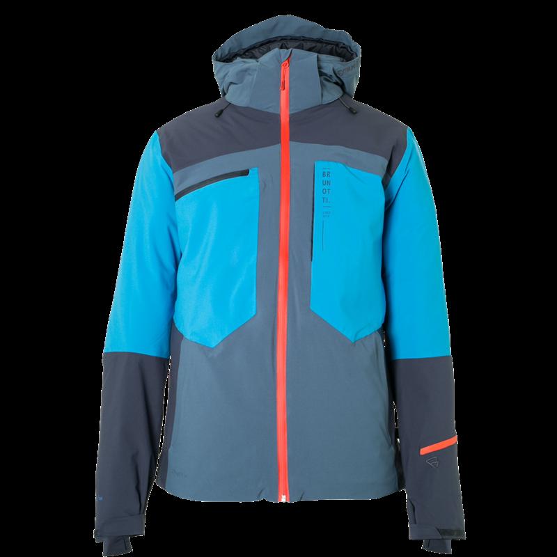 Brunotti Winch Men Snowjacket (Blue) - MEN JACKETS - Brunotti online shop
