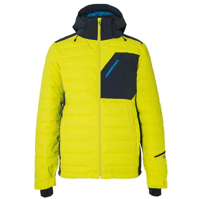Brunotti Trysail Men Snowjacket (Yellow) - MEN JACKETS - Brunotti online shop