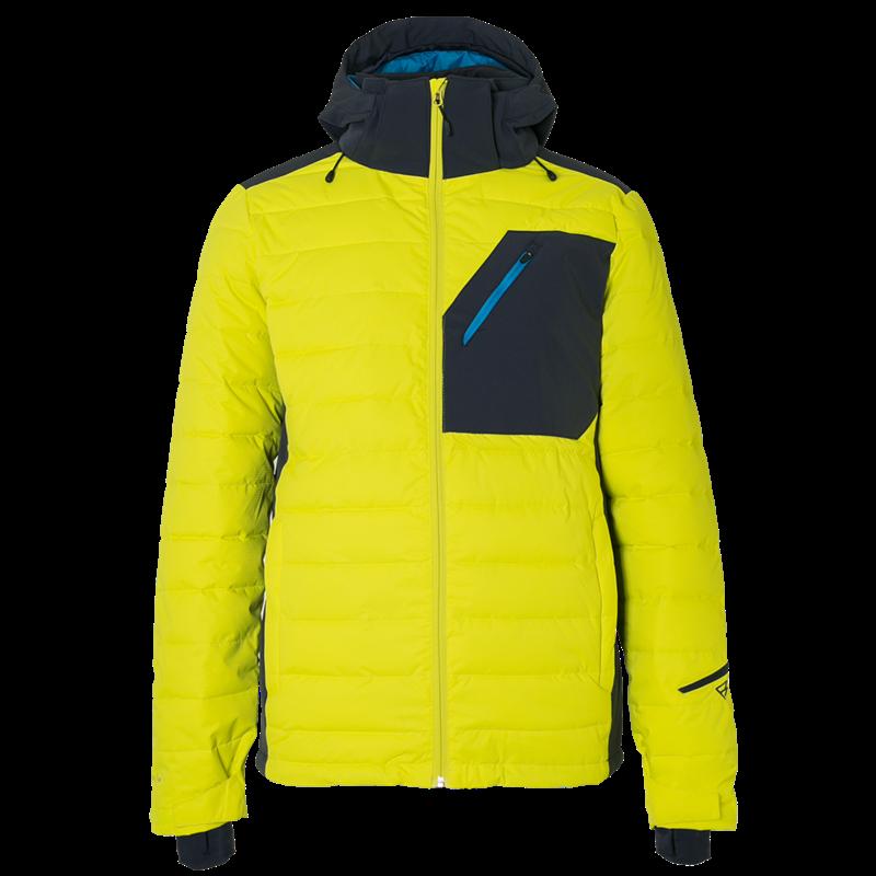 Brunotti Trysail Men Snowjacket (Yellow) - MEN JACKETS - Brunotti online shop