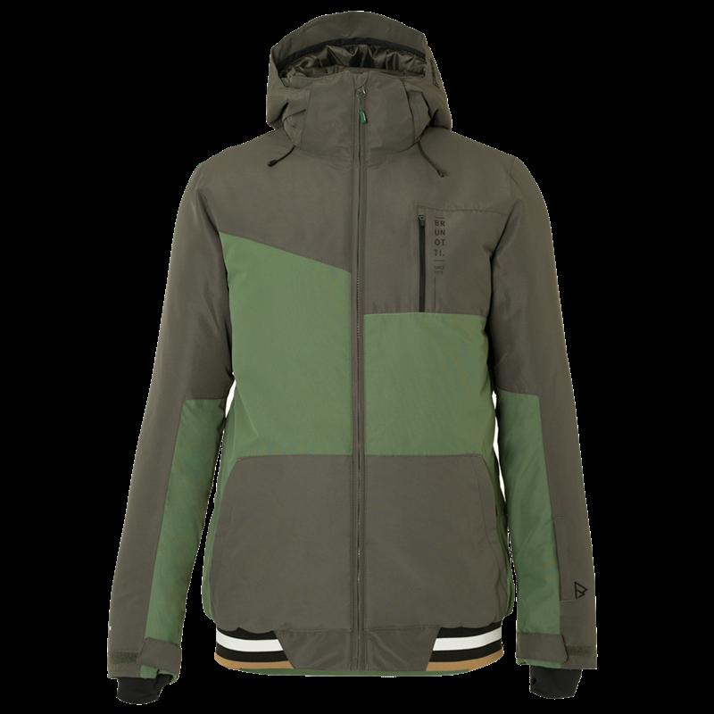 Brunotti Regor Men Snowjacket (Grey) - MEN JACKETS - Brunotti online shop