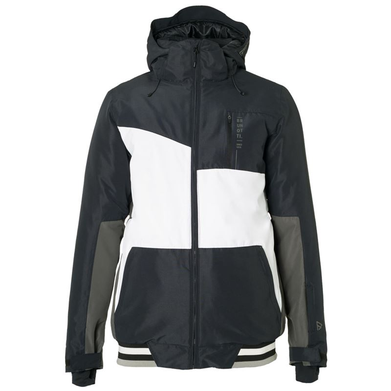 Brunotti Regor Men Snowjacket (Black) - MEN JACKETS - Brunotti online shop