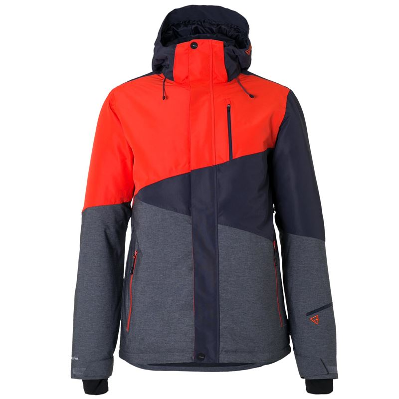 Brunotti Idaho Men Snowjacket (Oranje) - HEREN JASSEN - Brunotti online shop