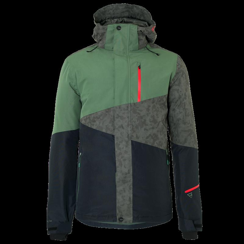 Brunotti Idaho Men Snowjacket (Green) - MEN JACKETS - Brunotti online shop