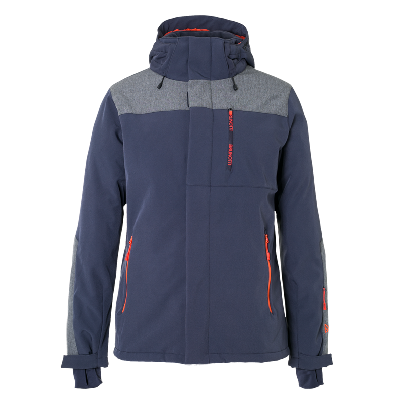 Brunotti Twintip Men Softshell jacket (Blue) - MEN JACKETS - Brunotti online shop