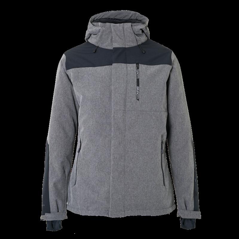 Brunotti Twintip Men Softshell jacket (Grey) - MEN JACKETS - Brunotti online shop