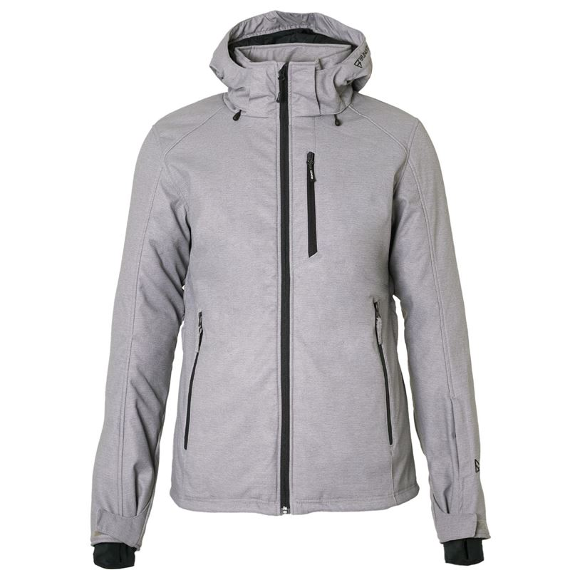 Brunotti Marsala Men Softshell jacket (Grey) - MEN JACKETS - Brunotti online shop