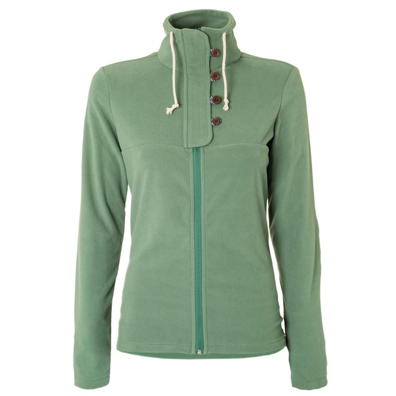 Brunotti Nunki Women Fleece (Groen) - DAMES FLEECES - Brunotti online shop