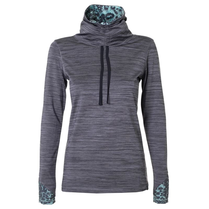 Brunotti Halo  (grijs) - dames fleeces - Brunotti online shop