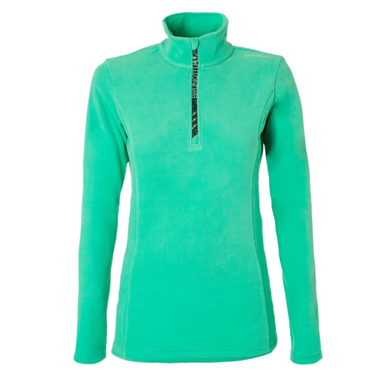 Brunotti Misma  (groen) - dames fleeces - Brunotti online shop