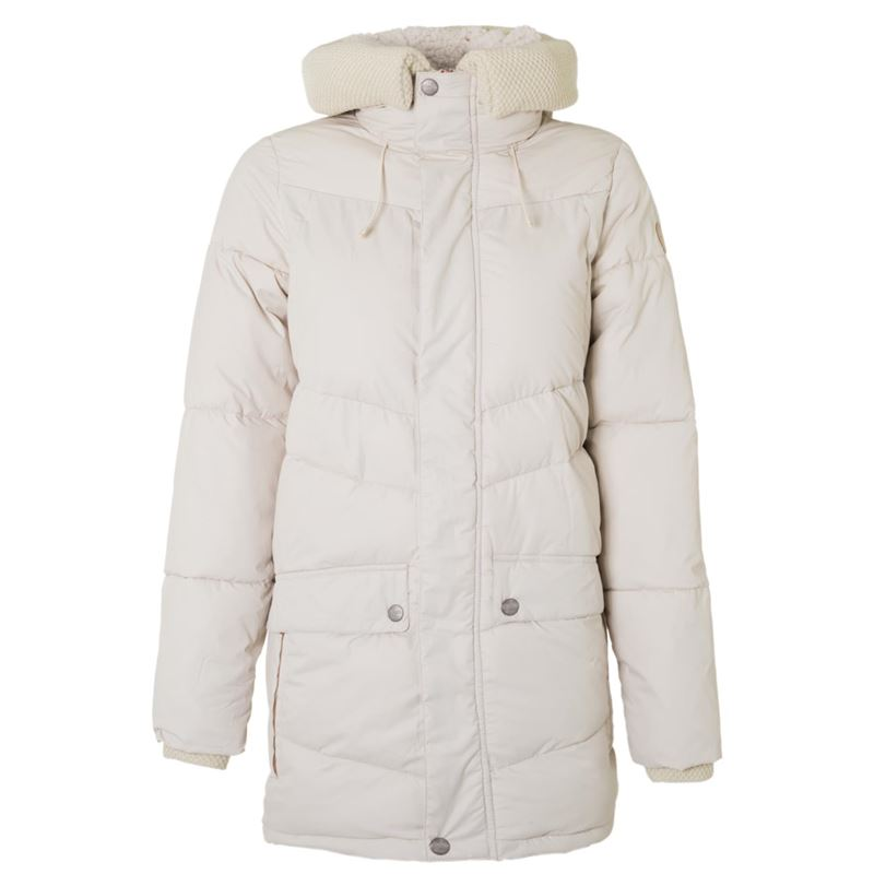 Brunotti Despina Women Jacket (White) - WOMEN JACKETS - Brunotti online shop