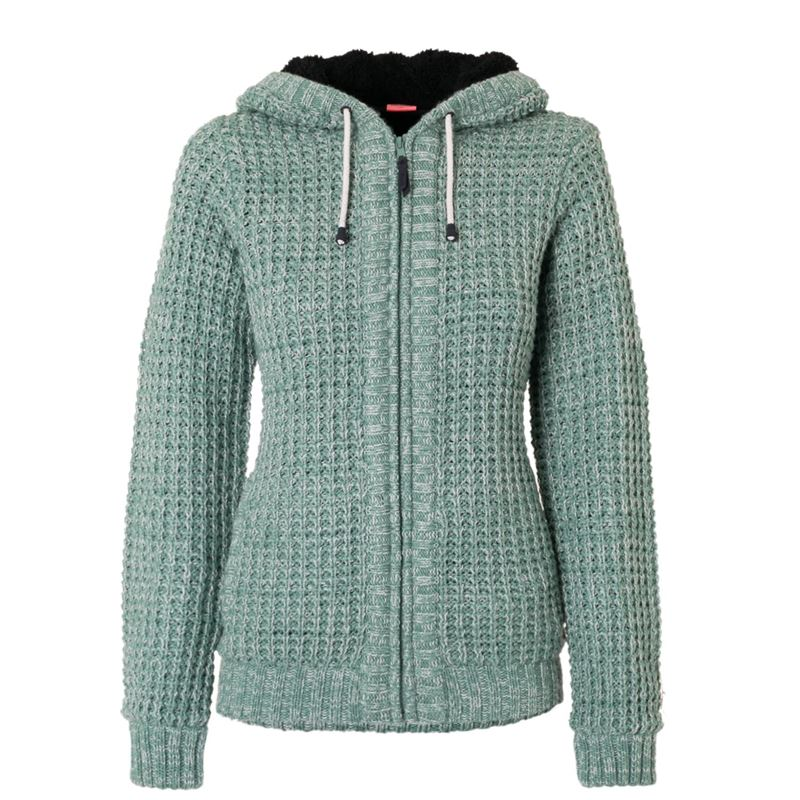 Brunotti Edita Women Knit (Green) - WOMEN JUMPERS & CARDIGANS - Brunotti online shop