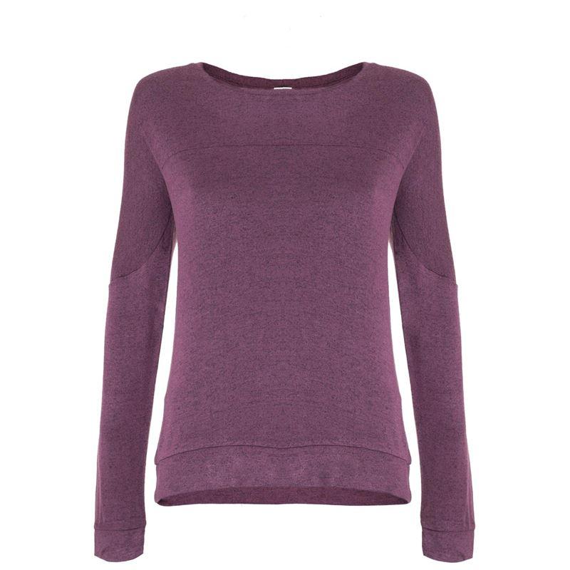 Brunotti Helene Women Sweat (Bruin) - DAMES TRUIEN & VESTEN - Brunotti online shop