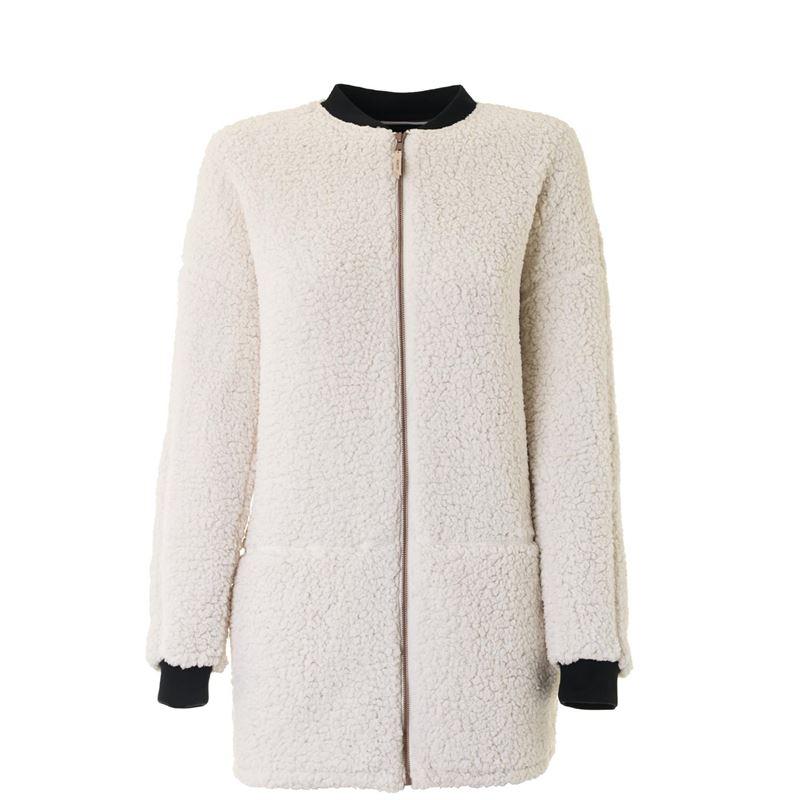 Brunotti Elara Women Vest (White) - WOMEN JUMPERS & CARDIGANS - Brunotti online shop