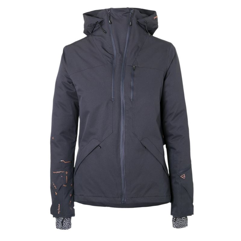 Brunotti Avior Women Snowjacket (Grey) - WOMEN JACKETS - Brunotti online shop