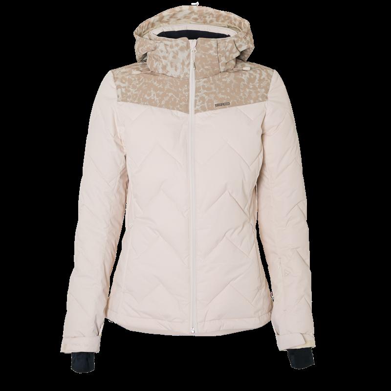 Brunotti Sirius Women Snowjacket (White) - WOMEN JACKETS - Brunotti online shop