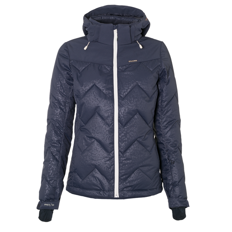 Brunotti Sirius Women Snowjacket (Blue) - WOMEN JACKETS - Brunotti online shop