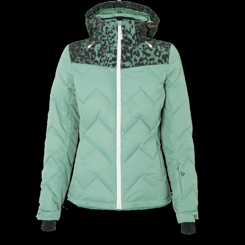 Brunotti Sirius Women Snowjacket (Green) - WOMEN JACKETS - Brunotti online shop